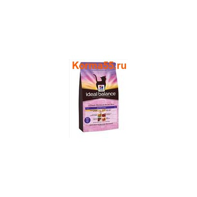Сухой корм Ideal Balance Feline Mature Adult with Fresh Chicken & Brown Rice