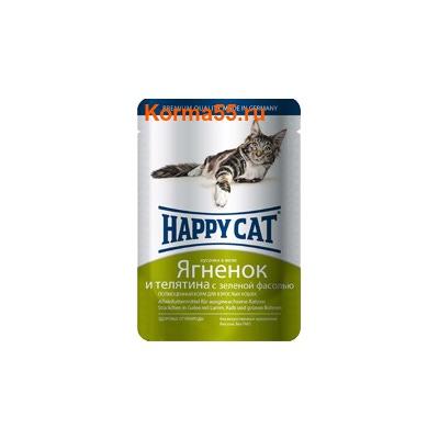 Влажный корм Happy Cat Ягненок и телятина