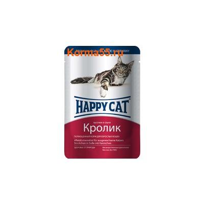 Влажный корм Happy Cat Кролик