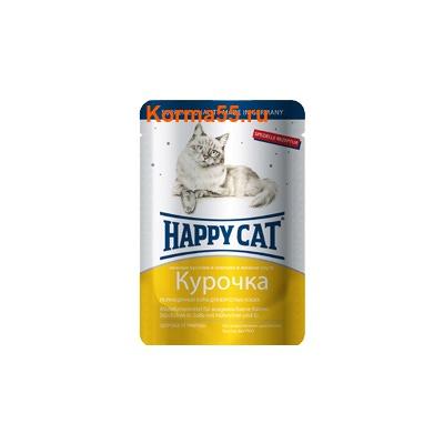 Влажный корм Happy Cat Курочка