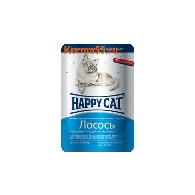 Влажный корм Happy Cat Лосось