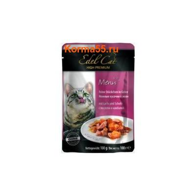 Влажный корм Edel Cat (лосось и камбала)
