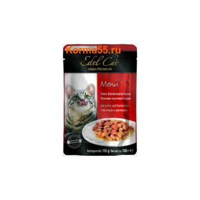 Влажный корм Edel Cat (печень и кролик)