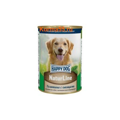 Влажный корм Happy Dog Телятина с овощами