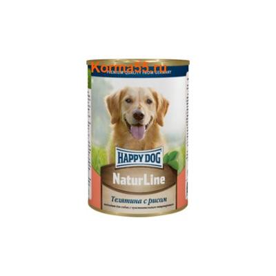 Влажный корм Happy Dog Телятина с рисом