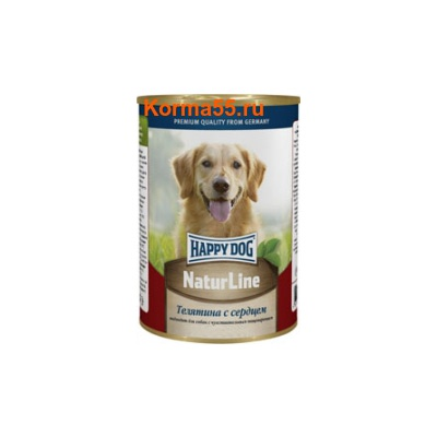 Влажный корм Happy Dog Телятина с сердцем
