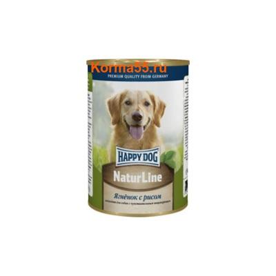 Влажный корм Happy Dog Ягненок с рисом