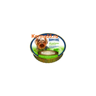 Паштет Happy Dog Ягненок с рисом