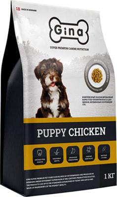 Сухой корм Gina Puppy Chicken (фото)