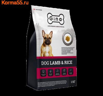 Сухой корм Gina Dog Lamb & Rice (фото)