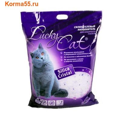 Наполнитель Lucky Cat Силикагелевый