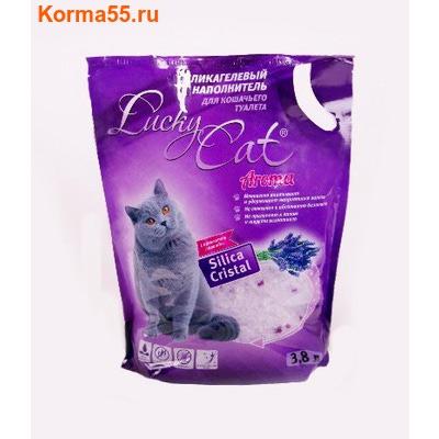 Наполнитель Lucky Cat Aroma Лаванда Силикагелевый