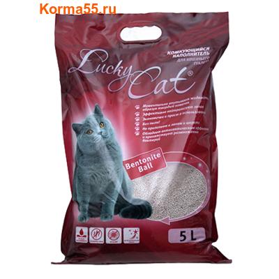 Наполнитель Lucky Cat Комкующийся