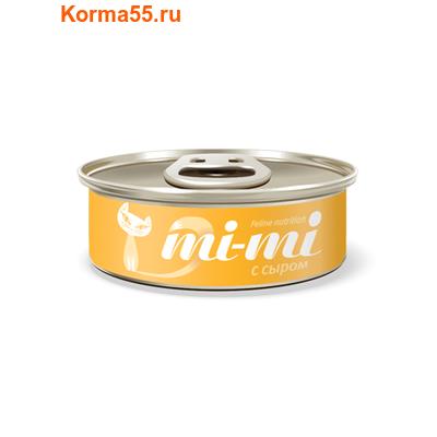 Влажный корм Mi-mi с сыром (фото)