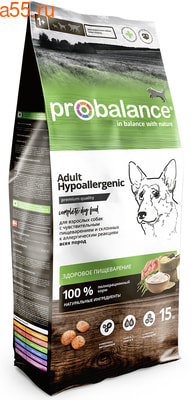 Сухой корм ProBalance Hypoallergenic