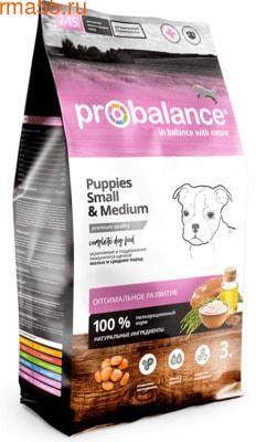 Сухой корм ProBalance Immuno Puppies Small & Medium (фото)