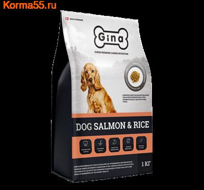 Сухой корм Gina Dog Salmon & Rice Denmark (фото)