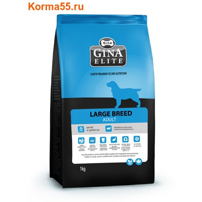 Сухой корм Gina Elite Large Dog Adult