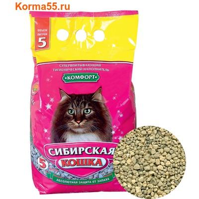 Наполнитель Сибирская кошка Комфорт