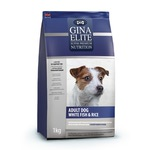 Gina Elite Adult Dog White fish & Rice (Великобритания)