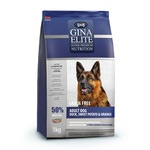 Gina Elite Grain Free Adult Dog Duck, Sweet Potato, Orange (Великобритания)