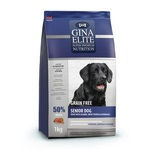 Gina Elite Grain Free Senior Dog Trout, Salmon, Sweet Potato, Asparagus (Великобритания)