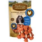 Деревенские лакомства для собак: куриные косточки жевательные