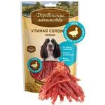 Деревенские лакомства для собак: утиная соломка нежная