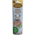Деревенские лакомства для кошек: мясные колбаски из курицы