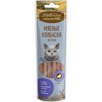 Деревенские лакомства для кошек: мясные колбаски из утки