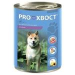 Влажный корм PROХВОСТ для собак с ягненком 850гр