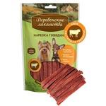 Деревенские лакомства для мини-пород: нарезка говядины
