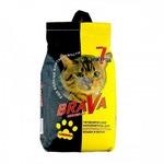 Наполнитель BraVa для гладкошерстных кошек и котят