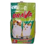 Наполнитель BraVa комкующийся для гладкошерстных кошек