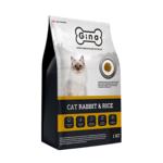 Сухой корм Gina Cat Rabbit&Rice Denmark