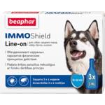 Капли Beaphar IMMO Shield Line-on от паразитов для собак средних пород