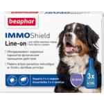Капли Beaphar IMMO Shield Line-on от паразитов для собак крупных пород