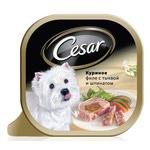 Консерва CESAR куриное филе с тыквой и шпинатом