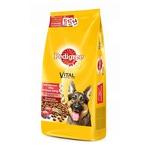 Сухой корм PEDIGREE для взрослых собак крупных пород с говядиной