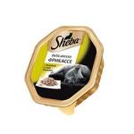 Влажный корм SHEBA DELICATESSO Фрикассе с индейкой в соусе «Бешамель»