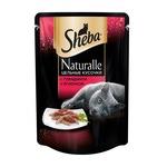 Влажный корм SHEBA NATURALLE цельные кусочки с говядиной и ягненком