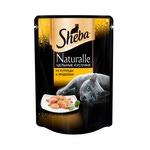 Влажный корм SHEBA NATURALLE цельные кусочки из курицы и индейки