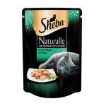 Влажный корм SHEBA NATURALLE цельные кусочки из курицы и утки