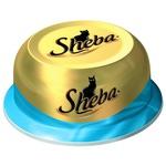 Влажный корм SHEBA CLASSIC сочный тунец в нежном соусе