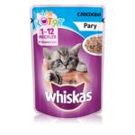 Влажный корм Whiskas для котят рагу с лососем