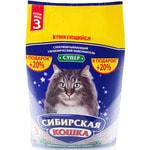 Наполнитель Сибирская кошка СУПЕР комкующийся