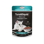 Влажный корм GINA Tuna & Squid — Тунец с кальмаром