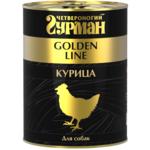 Влажный корм Четвероногий Гурман Golden с курицей