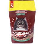 Наполнитель Сибирская кошка Универсал впитывающий