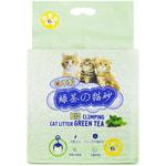 Наполнитель Hakase Arekkusu комкующийся, с зеленым чаем